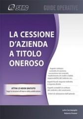 CESSIONE D'AZIENDA A TITOLO ONEROSO