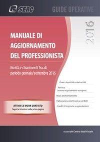 MANUALE DI AGGIORNAMENTO DEL PROFESSIONISTA