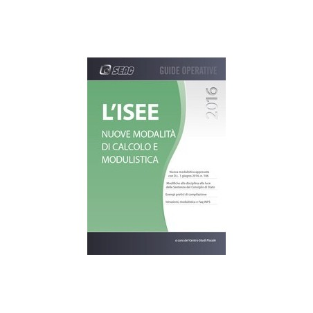 L'ISEE - Nuove modalità di calcolo e modulistica