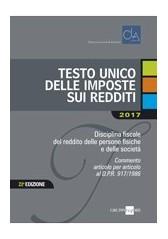 TESTO UNICO DELLE IMPOSTE SUI REDDITI 2017