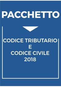 PACCHETTO CODICE TRIBUTARIO E CODICE CIVILE 2018