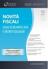 NOVITÀ FISCALI:LEGGE DI BILANCIO 2018 E DECRETI COLLEGATI