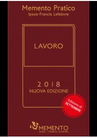 Memento Pratico Lavoro 2018 - edizione di settembre