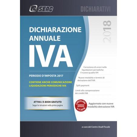 DICHIARAZIONE ANNUALE IVA 2018