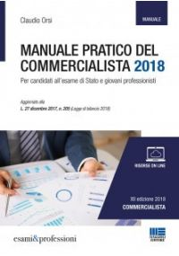 MANUALE PRATICO DEL COMMERCIALISTA 2018