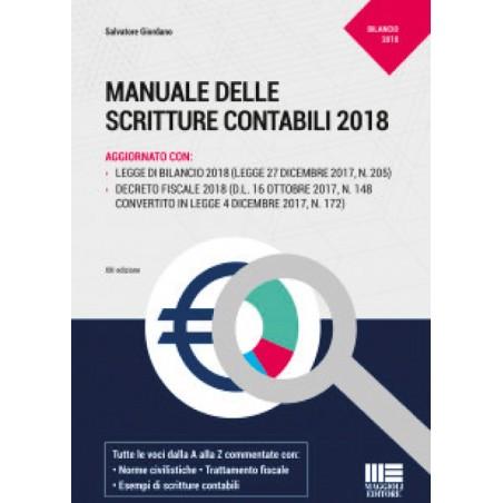 MANUALE DELLE SCRITTURE CONTABILI 2018