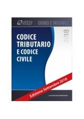 Codice tributario e codice civile aggiornato 2018