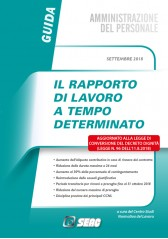 RAPPORTO DI LAVORO A TEMPO DETERMINATO seconda ed. 2018
