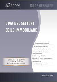 L'IVA NEL SETTORE EDILE - IMMOBILIARE