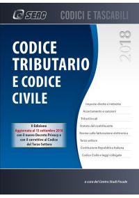 CODICE TRIBUTARIO E CODICE CIVILE edizione settembre 2018