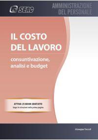 IL COSTO DEL LAVORO: Consuntivazione, Analisi e Budget