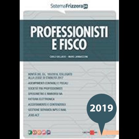 Professionisti e Fisco 2019 Frizzera Il Sole 24 Ore