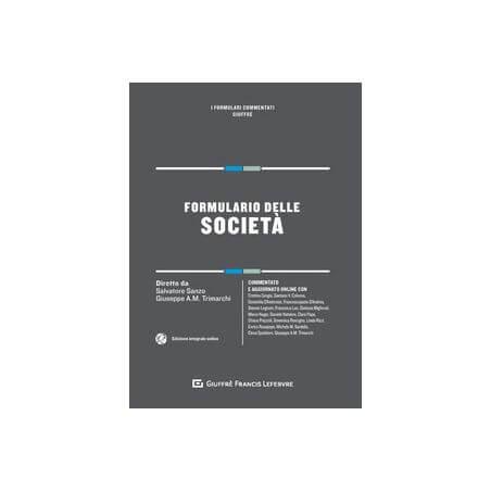 Formulario delle società
