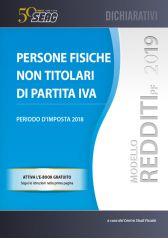 MODELLO REDDITI 2019 PERSONE FISICHE NON TITOLARI DI P.IVA
