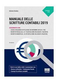 MANUALE DELLE SCRITTURE CONTABILI 2019
