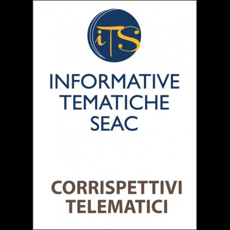Corrispettivi Telematici: aggiornamento online