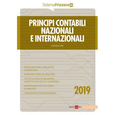 Principi contabili nazionali e internazionali 2019 Frizzera Il Sole 24 Ore
