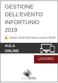 Gestione dell'Evento Infortunio 2019