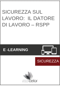 Corso Sicurezza - Datore di Lavoro RSPP - Rischio Basso (8 ore)