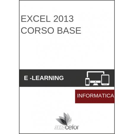 Excel 2013 Corso base