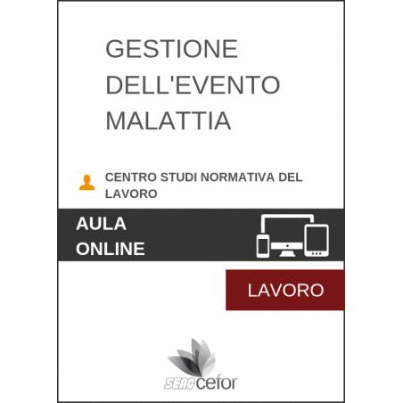 Gestione dell'Evento Malattia 2019