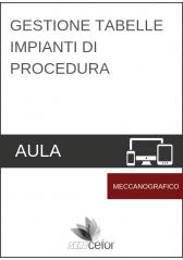 Gestione Tabelle impianti di procedura