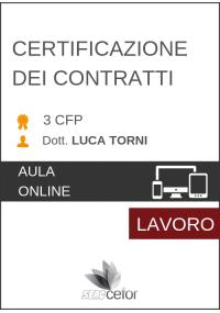 Certificazione dei contratti