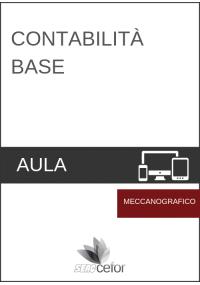 Contabilità base - CORSO MECCANOGRAFICO