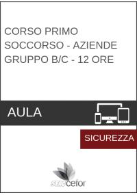 Corso Primo Soccorso - Aziende Gruppo B/C - 12 ore