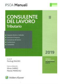 Consulente del lavoro Tributario Volume 2°