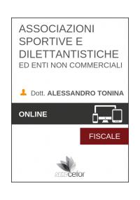 Associazioni sportive e dilettantistiche ed enti non commerciali 2019