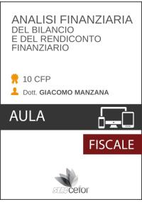 MASTER Analisi finanziaria del bilancio e rendiconto finanziario