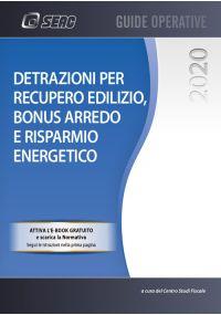 DETRAZIONI PER RECUPERO EDILIZIO BONUS ARREDO E RISPARMIO ENERGETICO 2020