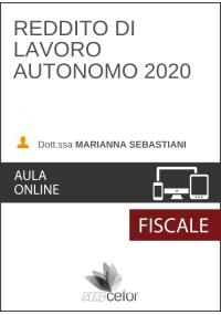 Reddito di lavoro autonomo 2020