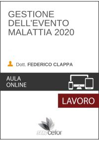 Gestione dell'Evento Malattia 2020