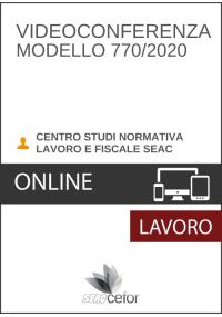 Modello 770 - 2020