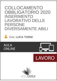 Collocamento obbligatorio  2020 - Inserimento lavorativo delle persone diversamente abili