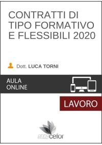 Contratti di tipo formativo e flessibili 2020