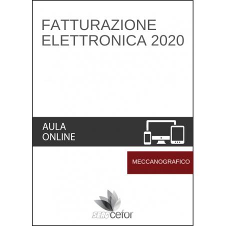 Fatturazione Elettronica 2020