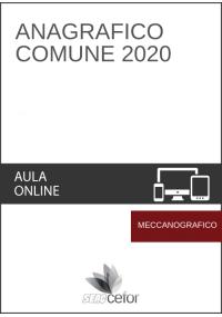 Anagrafico Comune 2020