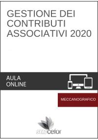 Gestione dei Contributi Associativi 2020