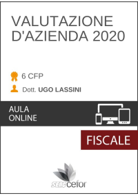 Valutazione d'Azienda 2020