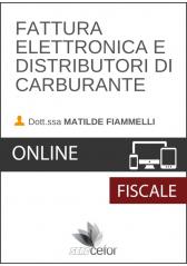 Fattura Elettronica e Distributori di Carburante
