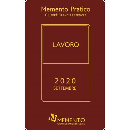Memento Pratico Lavoro 2020 - Edizione di Settembre