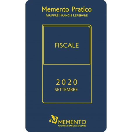 Memento Pratico Fiscale 2020 - Edizione di Settembre