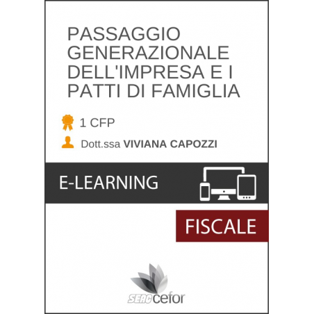 Passaggio Generazionale dell'Impresa e i Patti di Famiglia