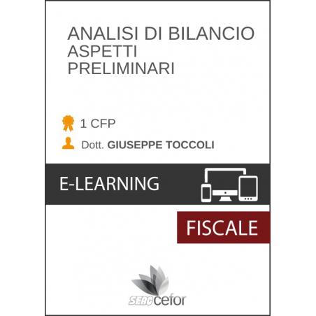 Analisi di Bilancio - Aspetti Preliminari
