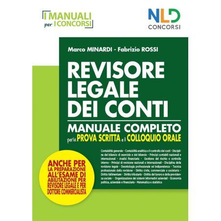 REVISORE LEGALE DEI CONTI - Manuale Completo per la prova scritta e il colloquio orale