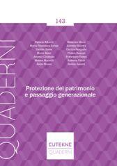 Protezione Del Patrimonio E Passaggio Generazionale
