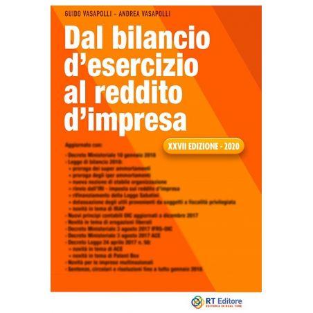 Dal Bilancio D'Esercizio al Reddito D'Impresa 2020 - XXVII edizione